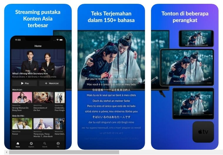 Viki Drama TV dan film Asia