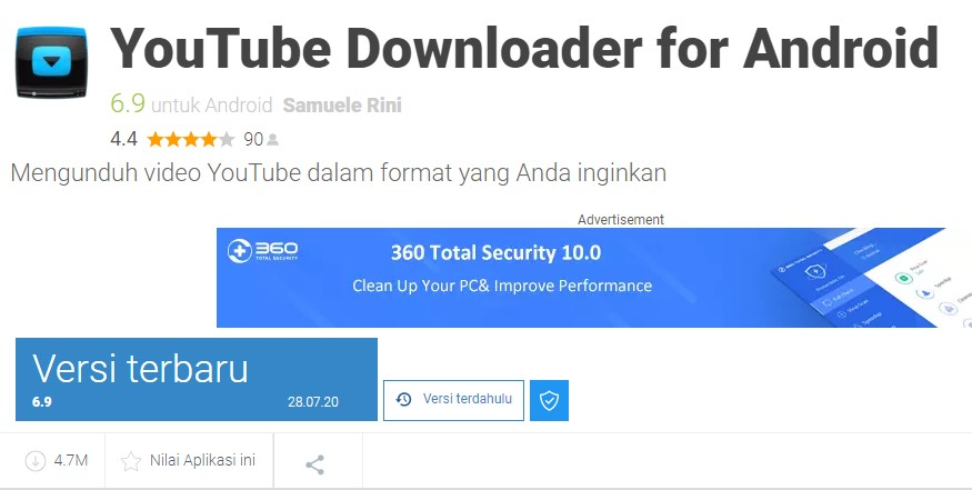 Aplikasi YouTube Downloader